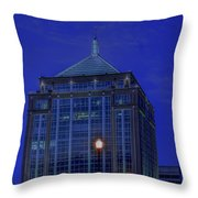 Wausau's Dudley Tower At Sundown Throw Pillow
