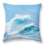 Wave #1 Throw Pillow