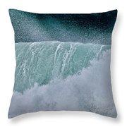 Eternal Wave Throw Pillow