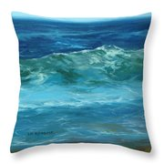 Wave Action Detail Throw Pillow