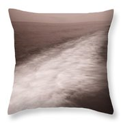 Wave Form Throw Pillow