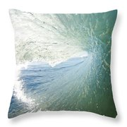Wave In Motion Throw Pillow