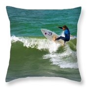 Wave Is Mine Throw Pillow