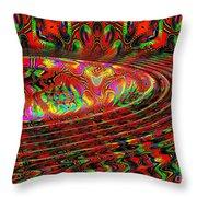 Wave Length Throw Pillow