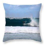 Wave Magnet Throw Pillow