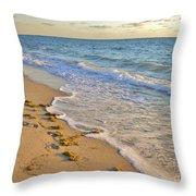 Wave Meditation Throw Pillow