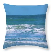 Wave Runner Throw Pillow