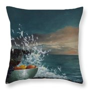 Wave Throw Pillow