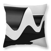 Wavelength Throw Pillow