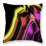 Wavelength Throw Pillow
