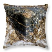 Wavelet Caress Throw Pillow