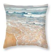 Waveline Throw Pillow