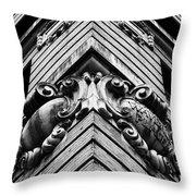Waverly Building Nyu Throw Pillow