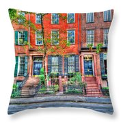 Waverly Place Townhomes Throw Pillow