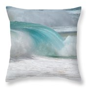 Waves End Throw Pillow