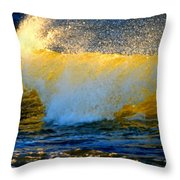 Waves Of Desire Throw Pillow