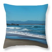 Waves Of Hope Throw Pillow