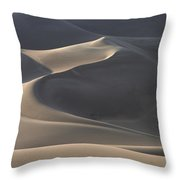 Waves Of Shadow Throw Pillow