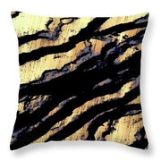 Waves Of Time 3 Throw Pillow