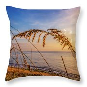 Waving In The Salty Breeze Throw Pillow