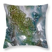 Wax On Throw Pillow