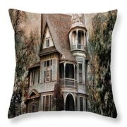 Waxahachie Home Throw Pillow