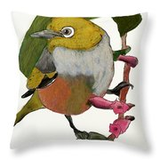 Waxeye Throw Pillow