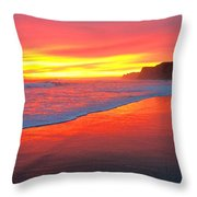 Way Out West Throw Pillow