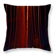Way Up There In The Veil Throw Pillow