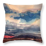 Way West Throw Pillow