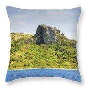 Waya Lailai Island Throw Pillow
