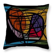 Ways And Emotions Throw Pillow