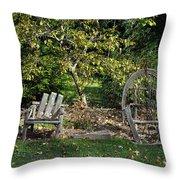 Wayside Rest Throw Pillow