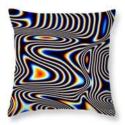 Wayward Stripes Throw Pillow