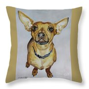 Waz Up Throw Pillow