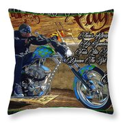 Wcc Pay Up Throw Pillow