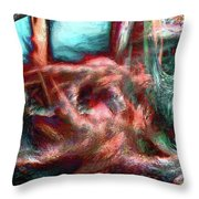 We All Dream Here Throw Pillow