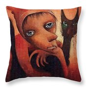 We Always In Close Harmony Throw Pillow