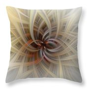 We Are All Connected Soft Abstract  Throw Pillow