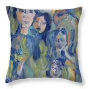 We Are All Human Throw Pillow