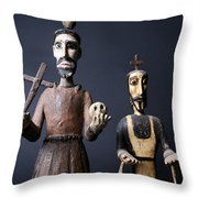 We Are From The Church And We Are Here To Help  Throw Pillow