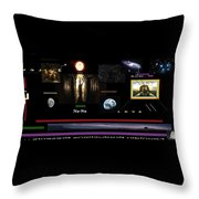 We Are Here Throw Pillow