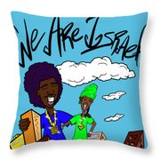 We Are Israel Throw Pillow