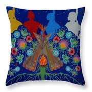 We Are One Bond Throw Pillow