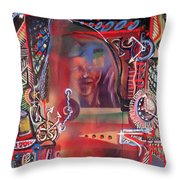 We Are One In Time And Rented Space Throw Pillow