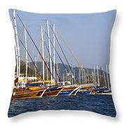 We Are Sailing Throw Pillow