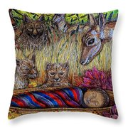 We Can Lay Down Together Throw Pillow