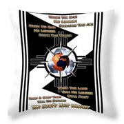 We Can't Eat Money 2017 Throw Pillow