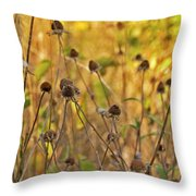 We Die Together Throw Pillow
