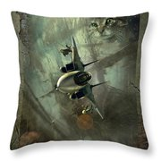 We Get Ours Part Two Throw Pillow
